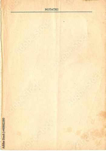notatki tło