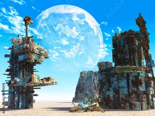 3d Fantasy landscape - 40910243