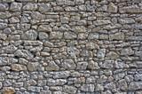Fototapeta Kamienie - Mur średniowiecznego zamku, Jura