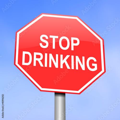 Plakaty dydaktyczne koncepcja-alkoholizmu