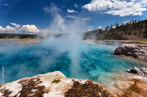 Poster de jardin Parc Naturel Yellowstone NP