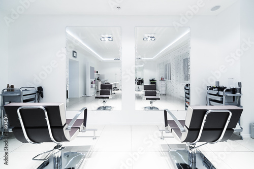 Fotografie, Obraz  chairs and mirrors