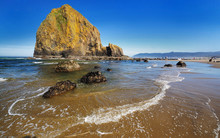 Canon Beach In Morning Time