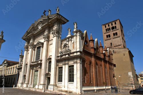 Fotografie, Obraz  Mantova, il duomo
