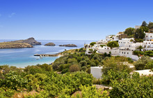 Traditional Village Of Lindos ...