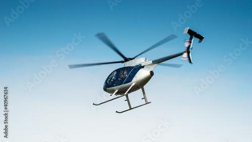Poster de jardin Hélicoptère Hubschrauber