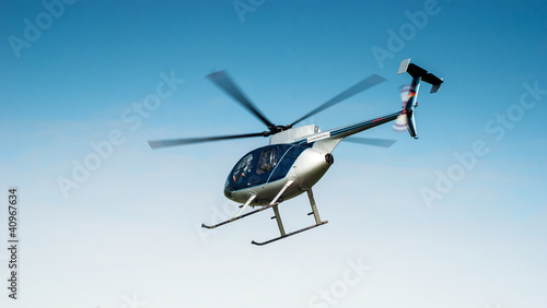 Photo sur Toile Hélicoptère Hubschrauber