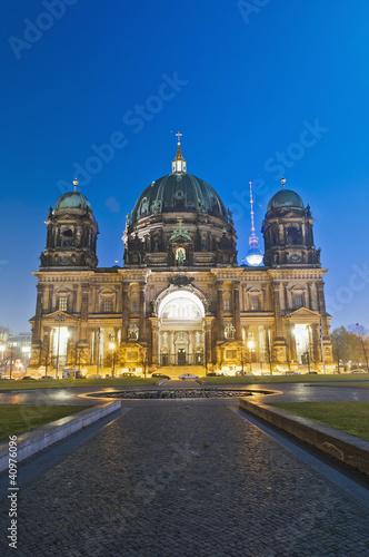 Berliner Dom (Berlin Cathedral) in Berlin, Germany Poster
