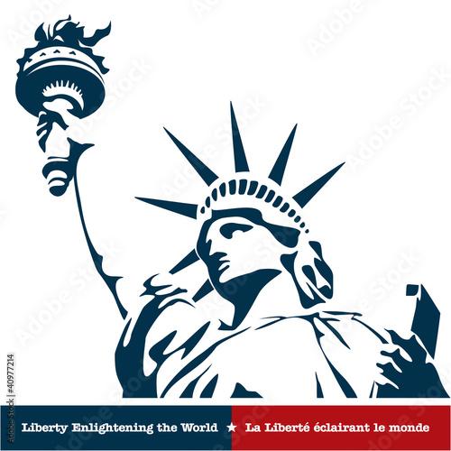 Statue of Liberty. USA Fototapet