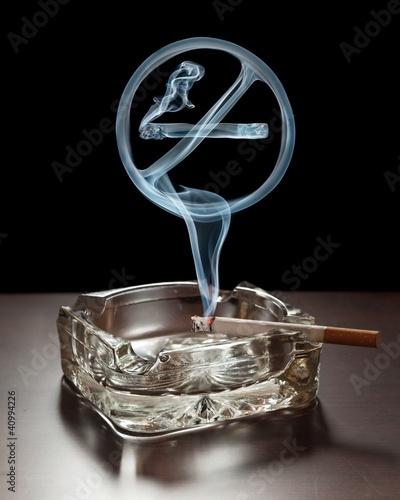 Plakaty o nałogach palenie-nie-jest-dozwolone