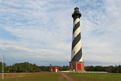Photo The Cape Hatteras lighthouse near Buxton, North Carolina