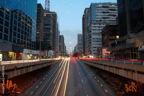 Tablou Canvas Avenida Paulista