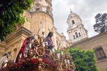 Holy Week In Malaga, Spain. Du...