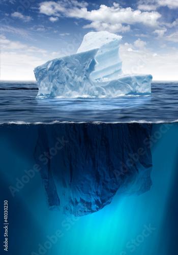 Fotografie, Obraz  Melting Iceberg