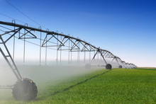 Crop Irrigation Using The Cent...
