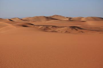 Fototapeta na wymiar Dünen der Sahara