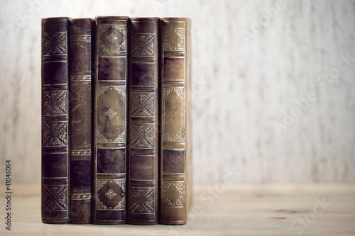 Valokuva  vintage books