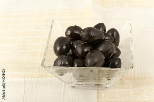 Fotografía  black olives