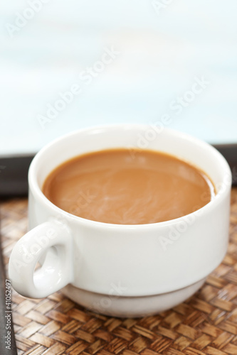 Foto op Plexiglas Chocolade A cup of coffee