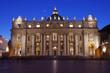 Night in Saint Peter Square, Vatican City