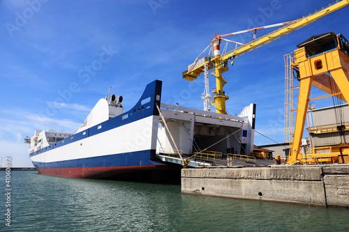 Fotomural passenger ferry ship