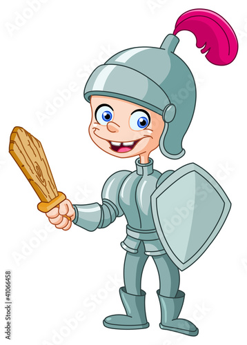 Papiers peints Chevaliers Knight kid