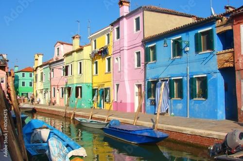 Poster Venice burano