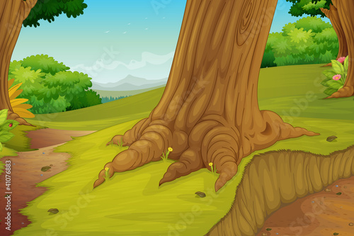 Garden Poster Forest animals forest