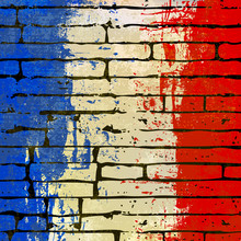 French Brick Wall Background