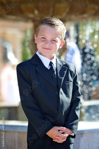 Fotografie, Obraz  First Holy Communion