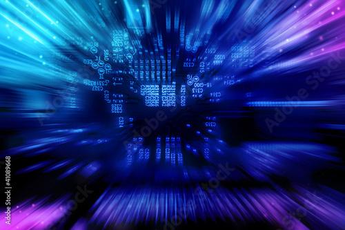 Fototapeta Electronic background texture obraz