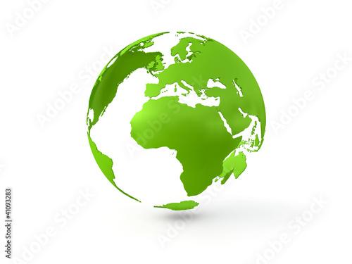 Fotografie, Obraz  3D Globe