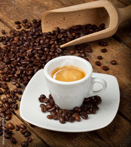 Deurstickers koffiebar Espresso - Caffè