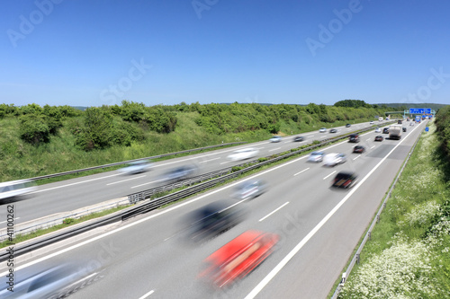Fotografía  Autobahn