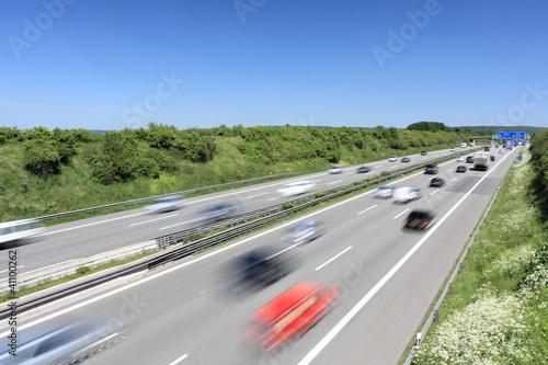 Fotografie, Obraz  Autobahn