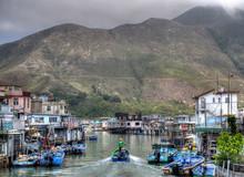Tai O Fishing Village, Hong Kong, China