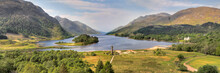 Panorama Of The Glenfinnan Mon...