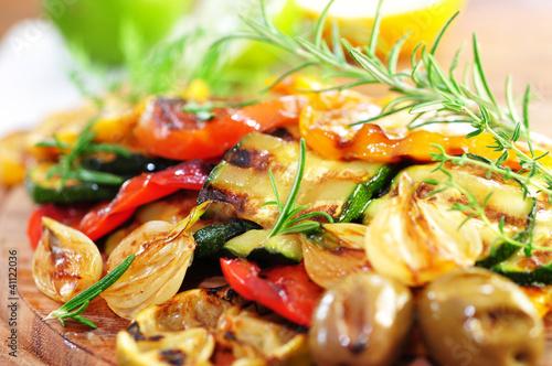 In de dag Grill / Barbecue Rosmarin, Grill