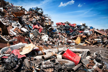 Iron Scrap Metal Compacted To ...