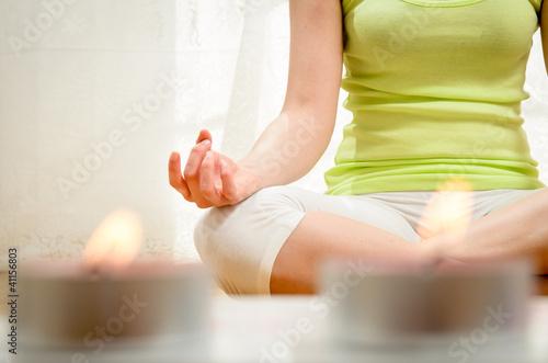 Staande foto School de yoga Yoga and Relax