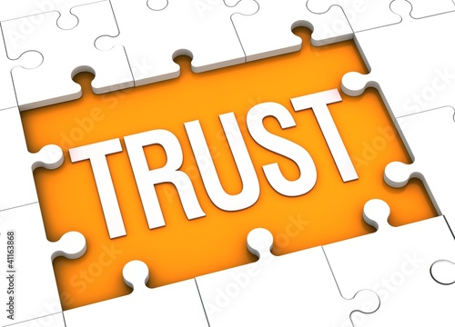 Fotografía  trust puzzle