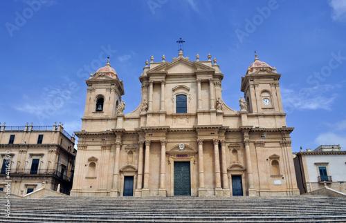 Garden Poster South Africa Italy. Italia. Sicilia cattedrale di Noto