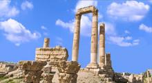 Hercules Temple Located In Amm...