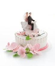 Beautiful Weeding Cake With Gi...