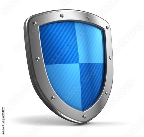 Fotografie, Obraz  Steel shield