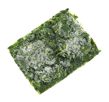 Block Of Frozen Chopped Spinach