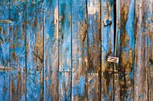 Planches Et Peinture Bleue