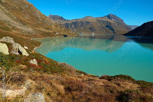 In de dag Zuid-Amerika land Silvretta