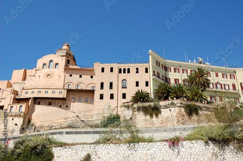 Fototapeta Cagliari - Il Castello