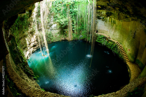 Photo sur Toile Mexique Ik-Kil Cenote, Chichen Itza, Mexico